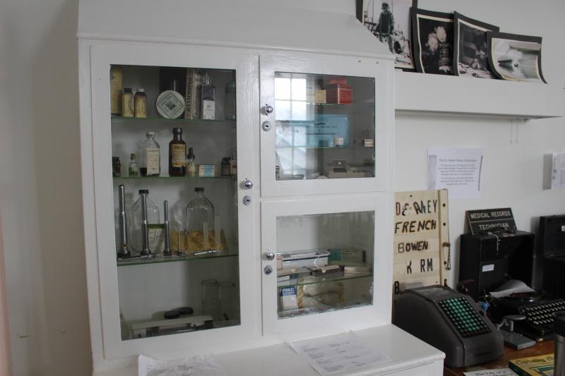Museum room in the former men's ward (photo by Terra Barrett)