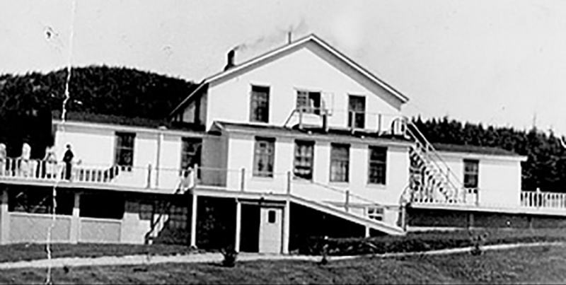 The Bonne Bay Cottage Hostel in 1953